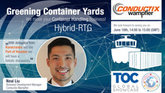 Greening Container Yards - Hybrid-RTG